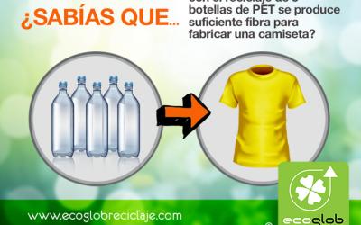El reciclaje del PET y la ropa ecológica